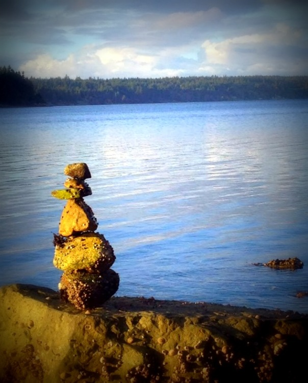 Cairns on Penrose Beach  12/13