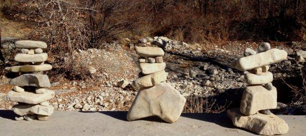 Wise Men Rock canyon