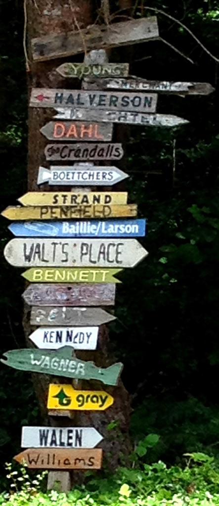 gray wagner signpost