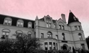 Twilight at Manresa Castle