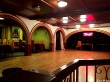 Upper dance area
