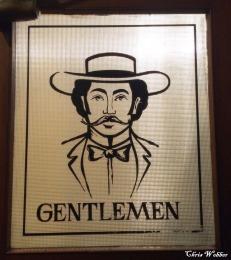First floor Gentlemen's room
