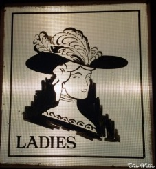 First floor ladies room