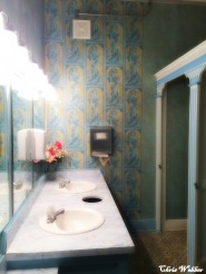Ladies room interior