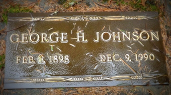 George Johnson 1898-1990